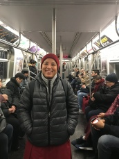 in New York subway